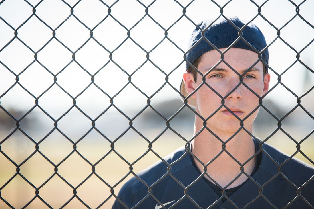 high school senior boys baseball photography