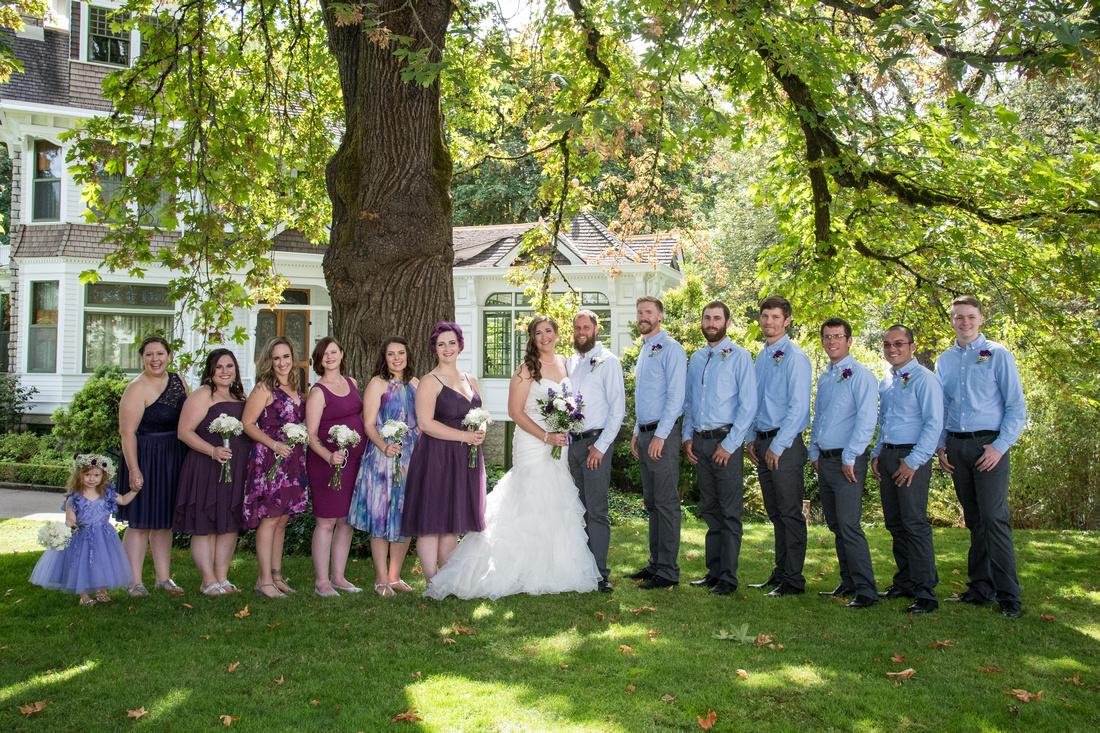 Wedding Salem Deep wood museum and gardens (45)